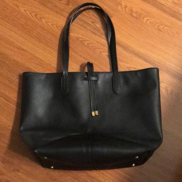 7aca069f26 Lauren Ralph Lauren Handbags - Black Leather Ralph Lauren Tote